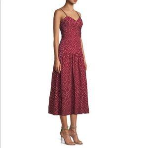 BRAND NEW Rebecca Taylor Midi Tiered Dress